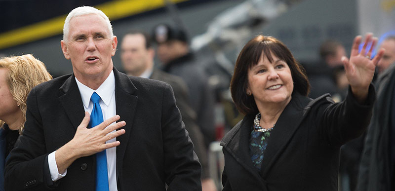 Twitter EXPLODES after CNN reporter can't believe Karen Pence works at Christian school!