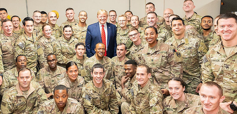 REPORT: Trump to order further troop withdrawal from Afghanistan, Iraq