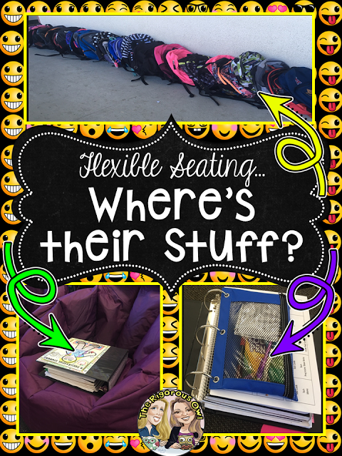 Staying Organized in the Flexible Seating Classroom