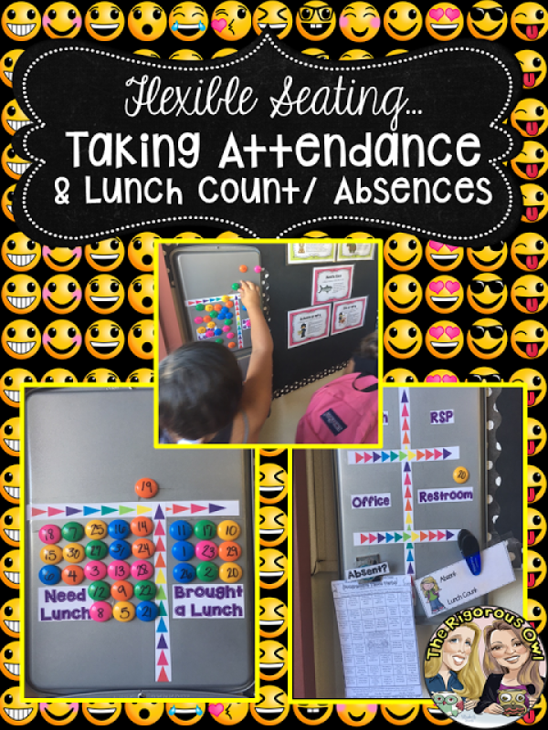 Learn about Taking roll, lunch count and dealing with absences here!
