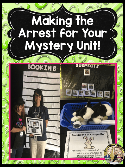 Making the Arrest for your Mystery Unit