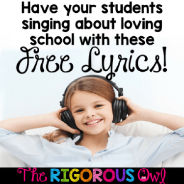 Want to add music to your class but you don't want to write the songs? We've done the work for you. We've taken popular songs and tweaked them to work in the class. Grab them by clicking here.