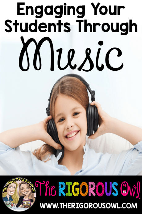 Learn how to engage your students through music. Students love music. Click here and learn the simple steps to add music into your class. Plus grab our FREE music lyrics!!!