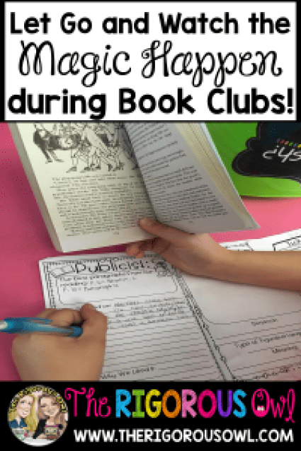 Learn how to sit back and watch the magic happen during Book Clubs!