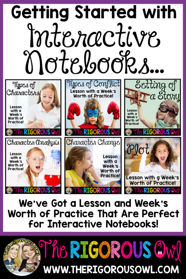 Key Ideas and Details Interactive Notebook Lessons and Practice