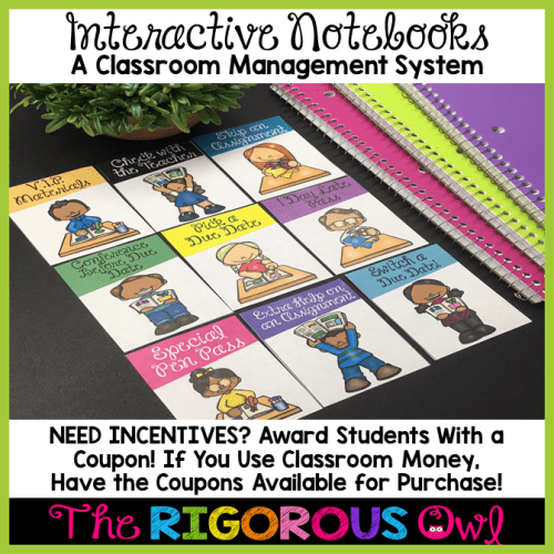 Learn how to give students recognition with Interactive Notebooks!