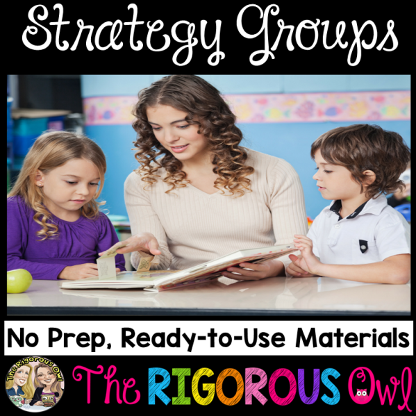 Reading Strategy Groups No Prep Ready to Use Materials