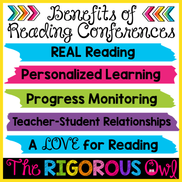 Find out about the Benefits of Reading Conferences HERE!