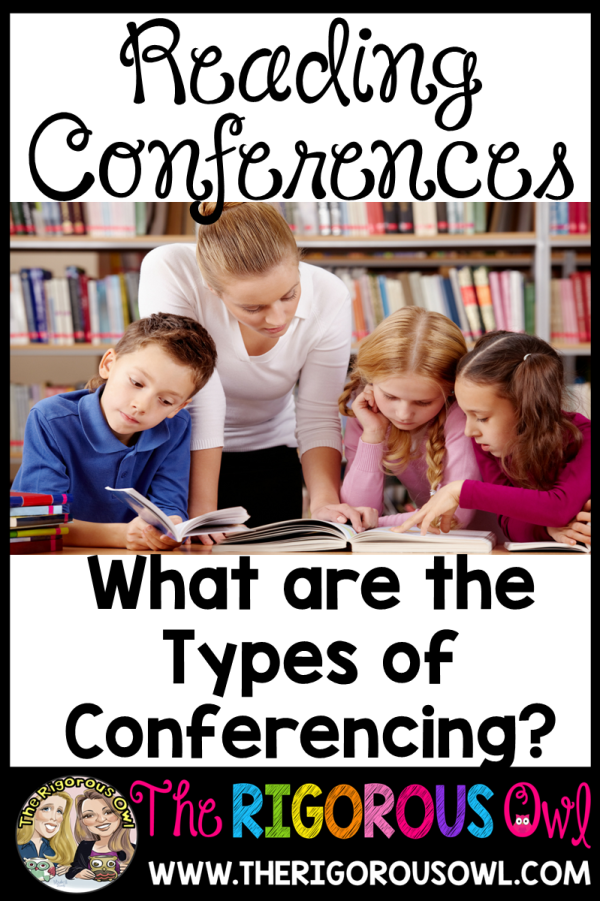 What are the Types of Reading Conferences? Find out HERE!