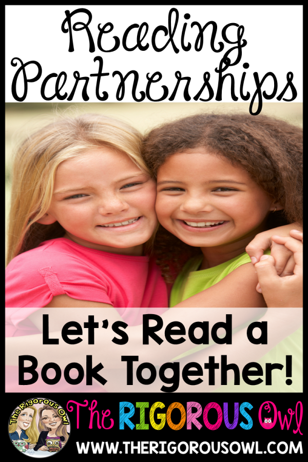 Allow students to share in the joy of reading together using Reading Partnerships!