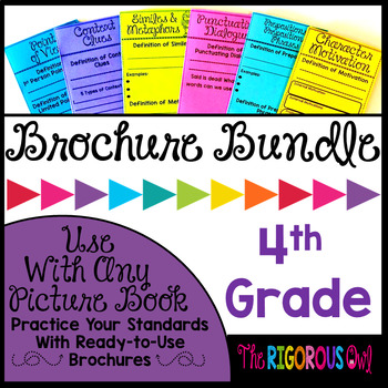 4th Grade Standards Based Brochure Bundle