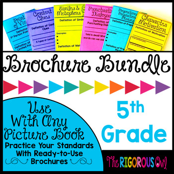 5th Grade Standards Based Brochure Bundle