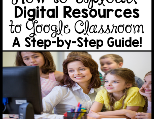 How to Upload Digital Resources to Google Classroom