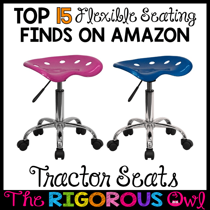 Tractor Seats for the Flexible Seating Classroom