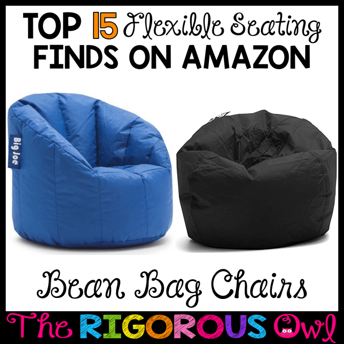 Bean Bags in the Flexible Seating Classroom