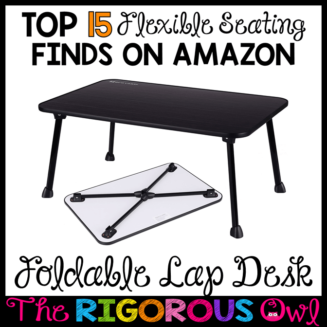 Foldable Lap Desks for the Flexible Seating Classroom
