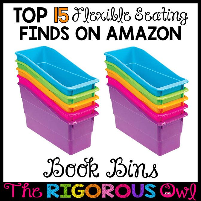 Book Bins for the Flexible Seating Classroom