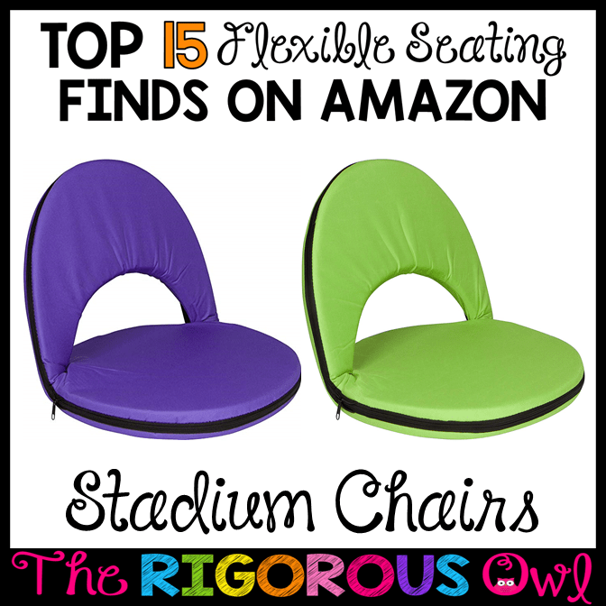 Stadium Chairs for the Flexible Seating Classroom