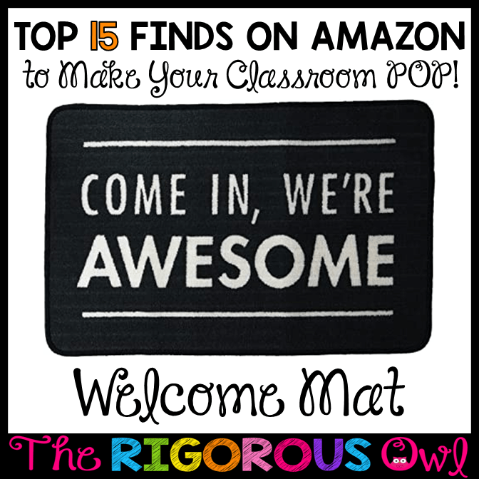 Welcome Mats for the Classroom