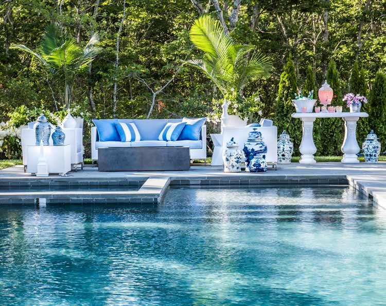 Sag-Harbor-Home-Design-Pool-Area | The Rinfret Group