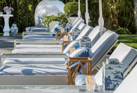 Sag-Harbor-Outdoor-Design-Pool-Area-row-of-chaise-lounges