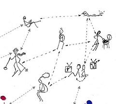 social networks by Skampy