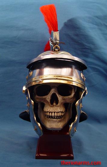 Therionarms Roman Helmet W Detachable Crest