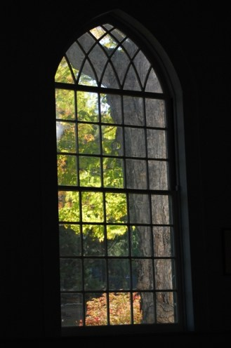 Out a Church Window