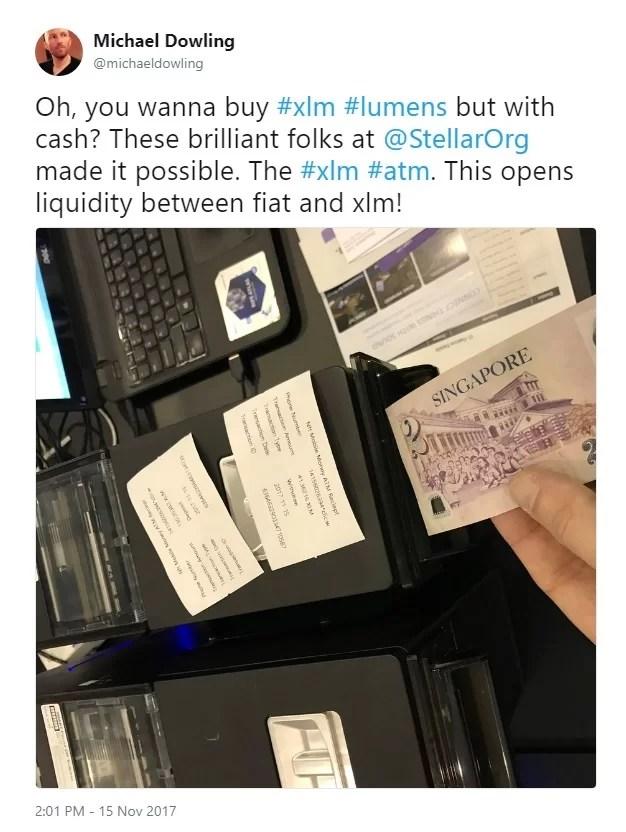 Stellar ATM in action