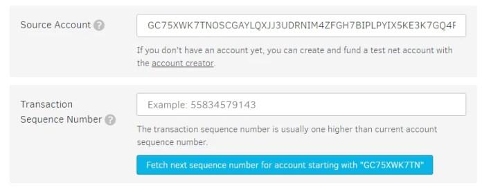 Enter Wallet address