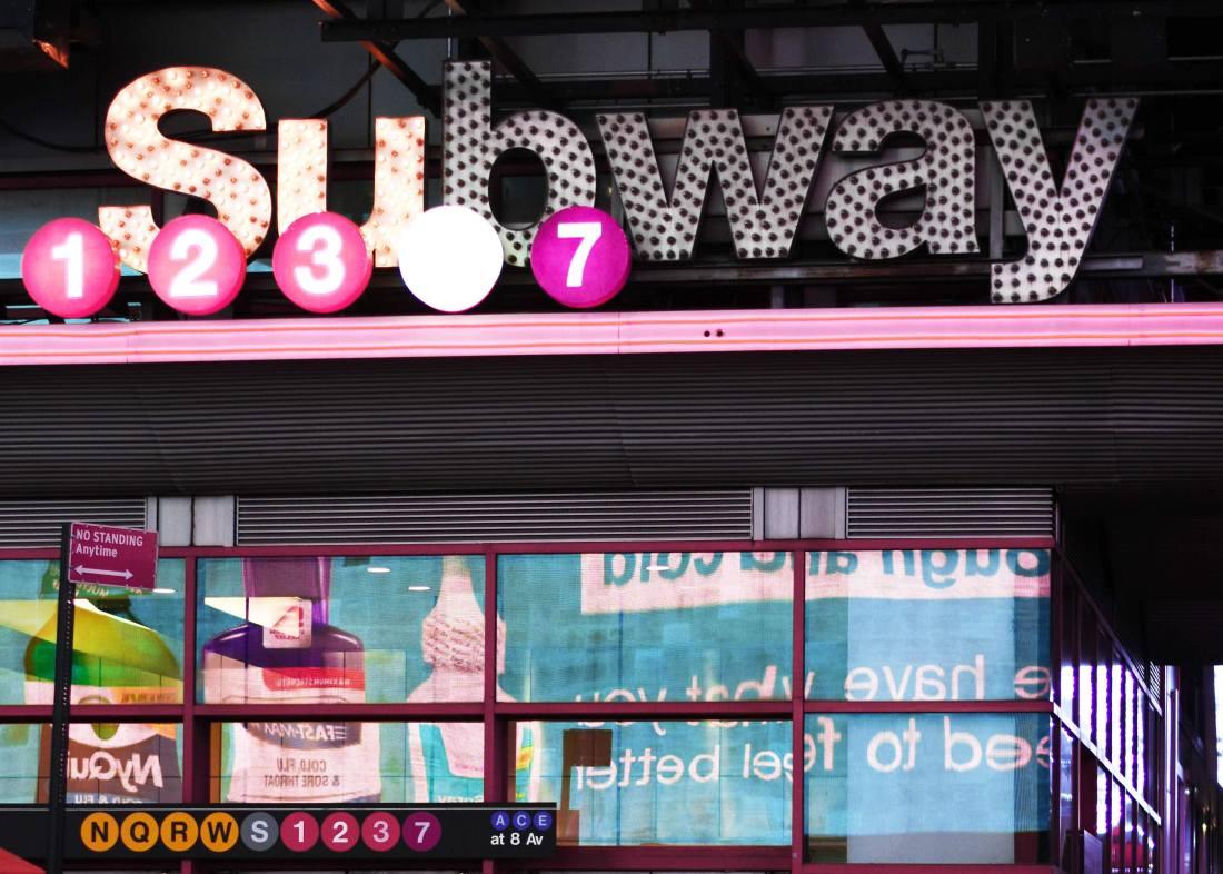 Subway New York City Home