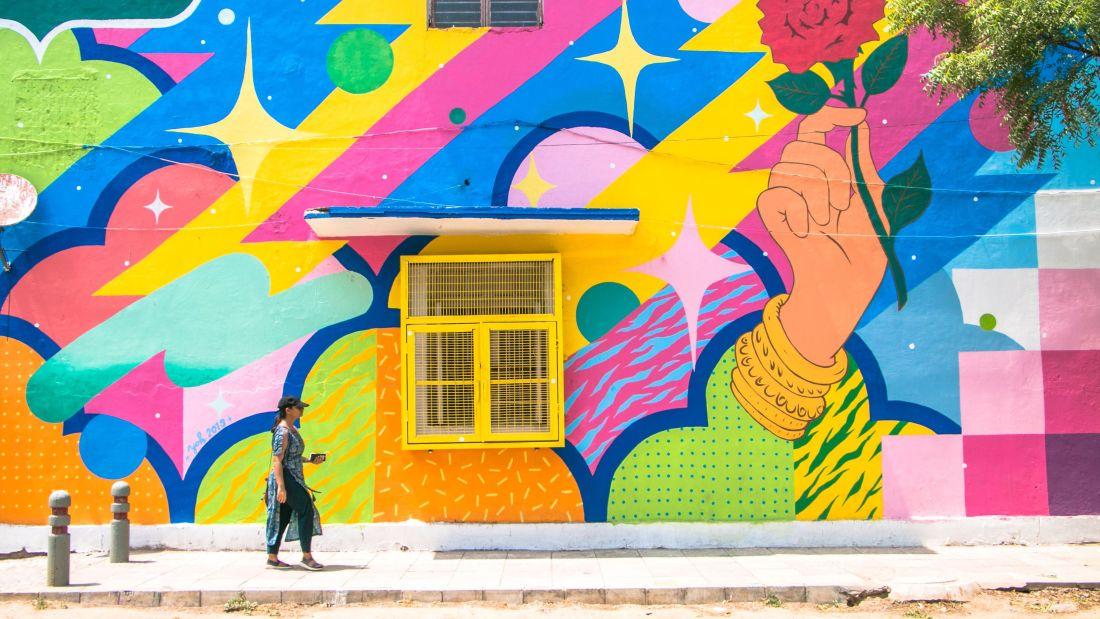 Delhi graffiti
