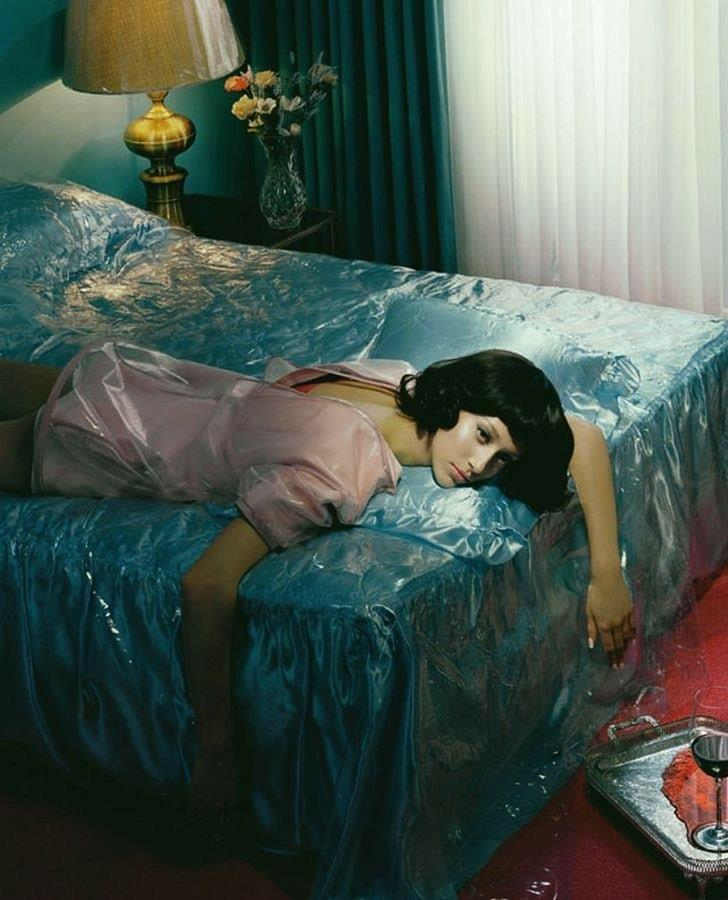 Art: Alana Zimmer in Vogue Italia March 2012 by Miles Aldridge (The Art of Death)