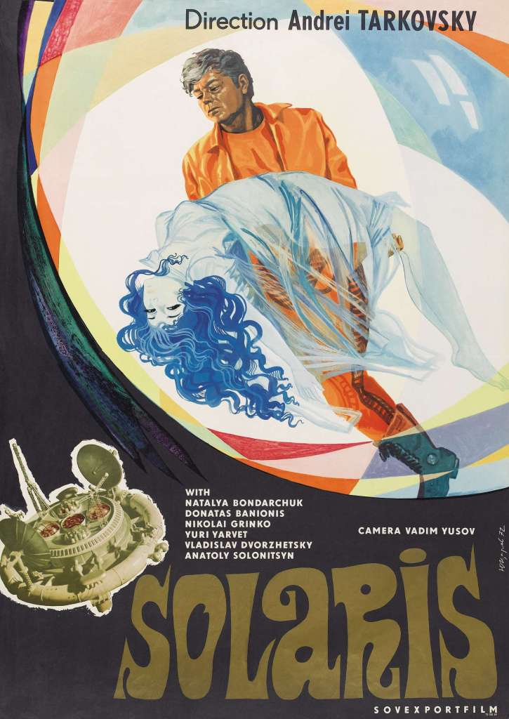 Solaris: Solaris is not your usual run of the mill space movie. This 1972 film is noted for its artistic appeal, poetic visuals and a psychological and emotional depth, new to science fiction films.