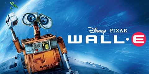 """Wall E, Those big innocent eyes and cute actions won the hearts of millions and the movie topped Time Magazine's list of the """"Best Movies of the Decade""""."""