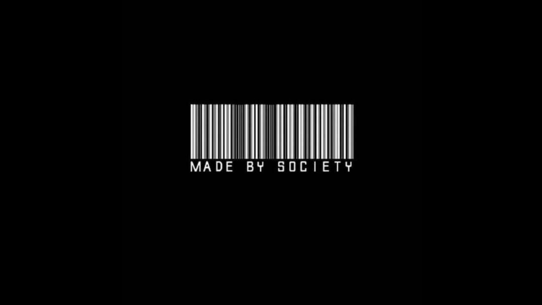 Mirror Mirror: Society Black Barcode Aesthetic