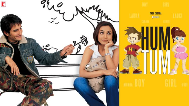 Yash Raj Films: Hum Tum (rani mukherjee and saif ali khan star in this romantic comedy about a couple meant to be)