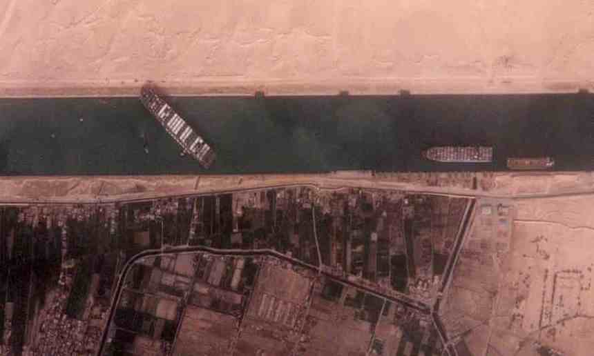 Suez Canal Blockage _ Current Affairs February and March 2021