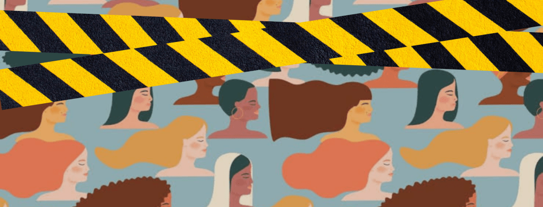 How To Write about Feminists: A Sarcastic Take on Stereotypes and Tropes (Diversity and women with caution tape)