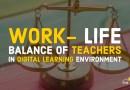 Work-life balance of teachers