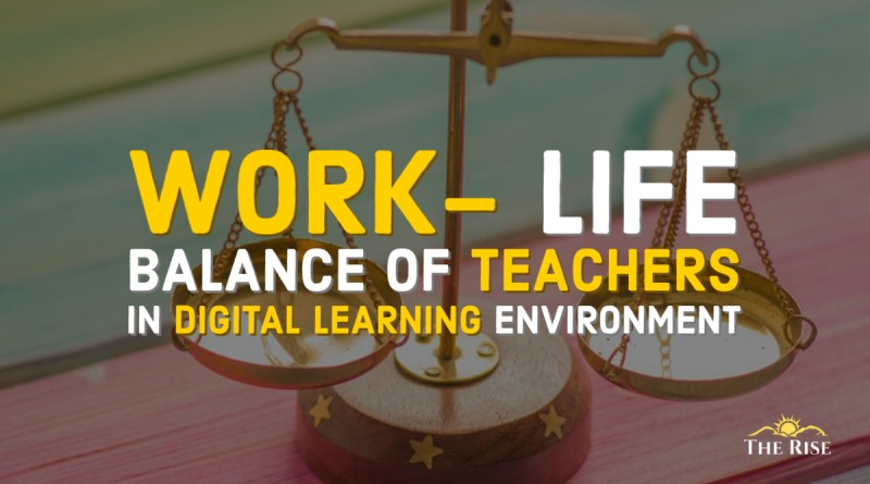 Work-life balance of teachers