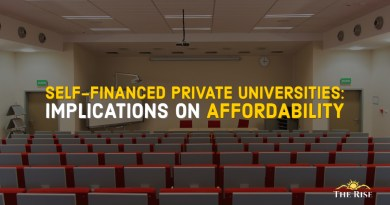 self financed private universities and affordability