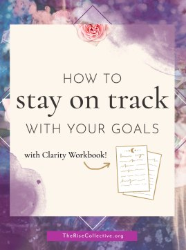 Once you are done with goal setting and goal planning, how to stay accountable to your goals