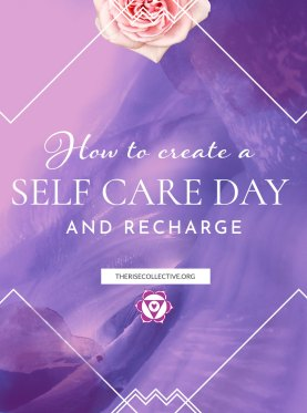 How to create a self care day to recharge during the waning and new moon