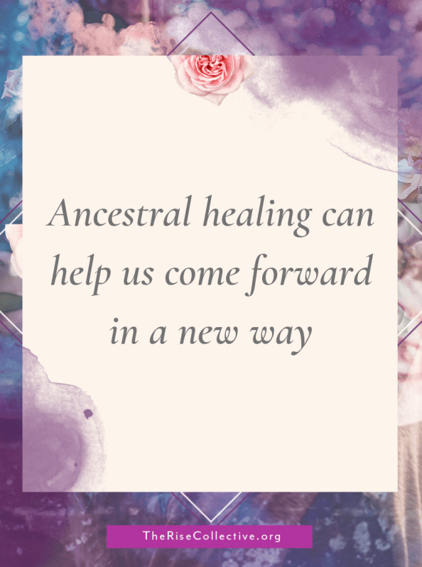 Ancestral healing can transmute the traumas of this current lifetime, and from previous lifetimes. By doing this, you can unlock your and your family's accumulated wisdom in this lifetime.
