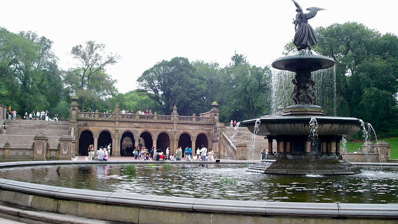 Angel of the Waters Fountain @ Bethesda Terrace