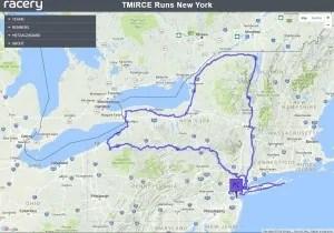 Running around New York State