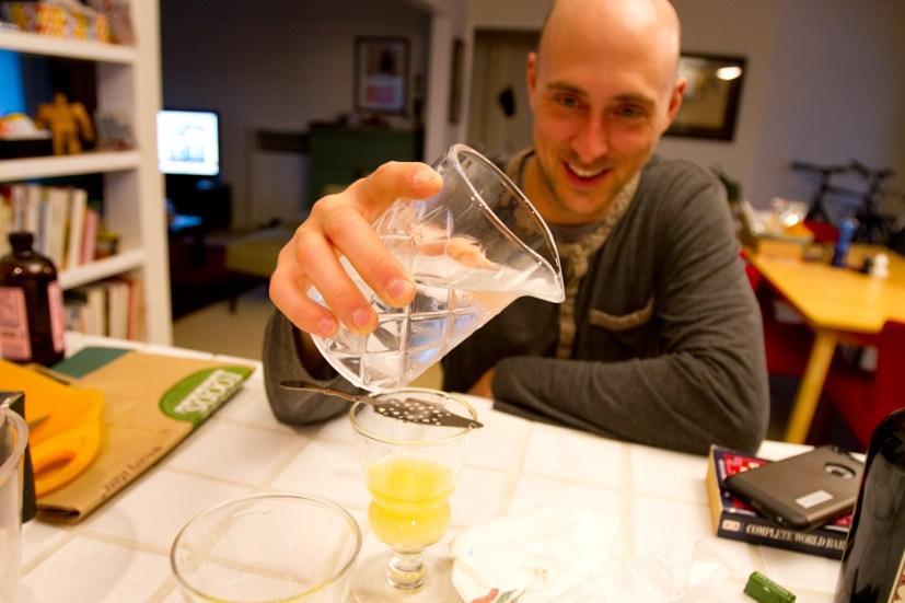 Absinthe Drip Cocktail--Drippin