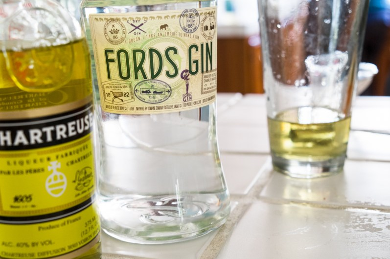 Alaska Cocktail - Gin & Chartreuse