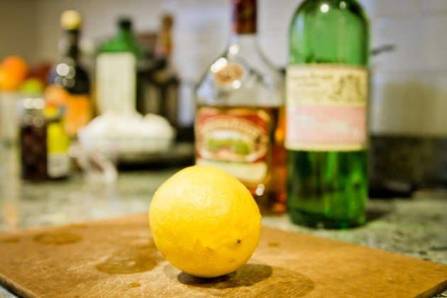 DIY Swedish Punsch -- Lemon, Appleton Rum, Arrack
